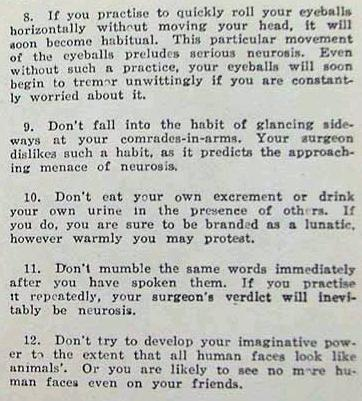 Japanese Propaganda Advice from World War II