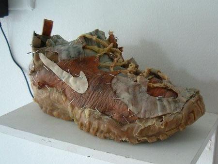 Animatronic Frankenstein Nike Shoe