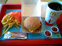 American+mcdonalds+meal